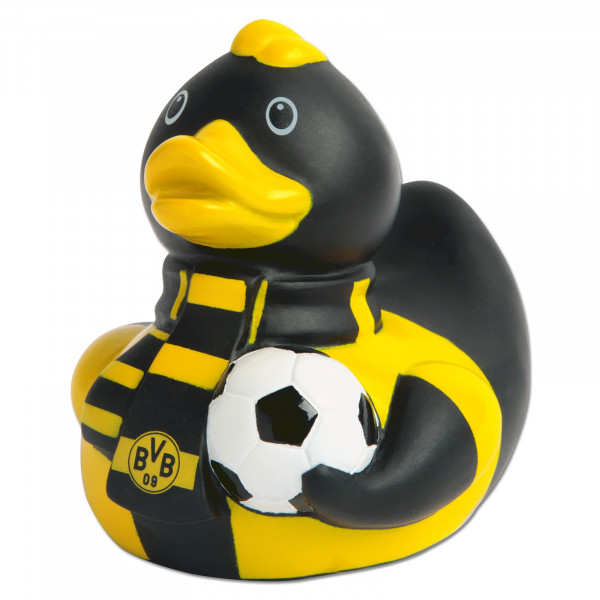 BVB rubber duck with scarf