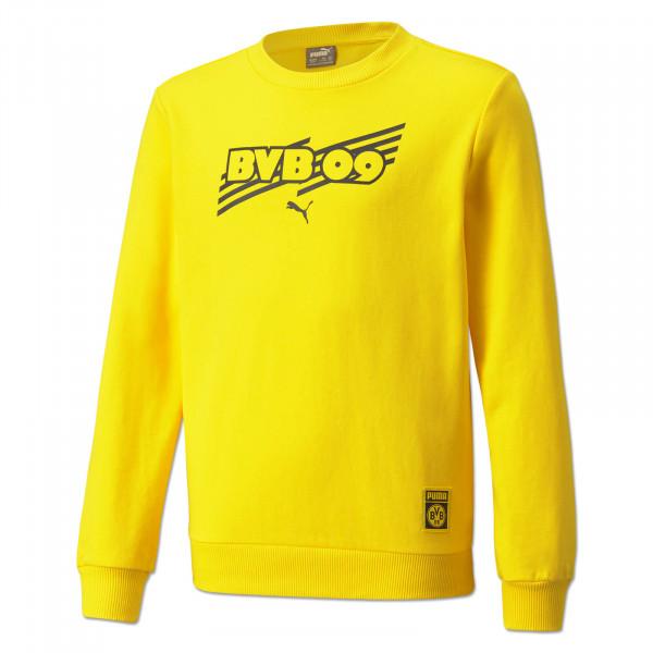 BVB Sweatshirt Ftbl Core (Yellow) for Kids