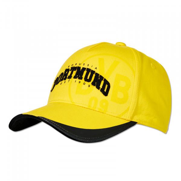 Casquette BVB avec application jaune