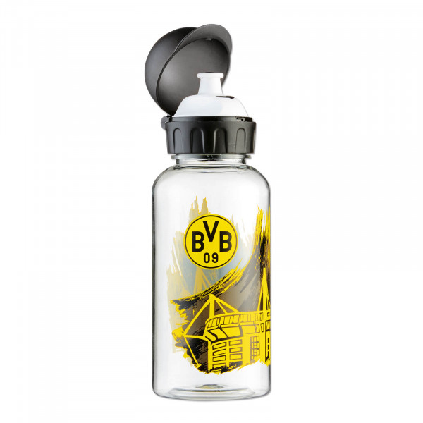 BVB drinking bottle with stadium motif