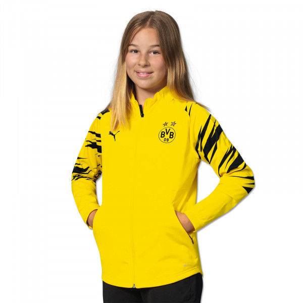 BVB Warm Up Jacket 20/21 for Kids (home)