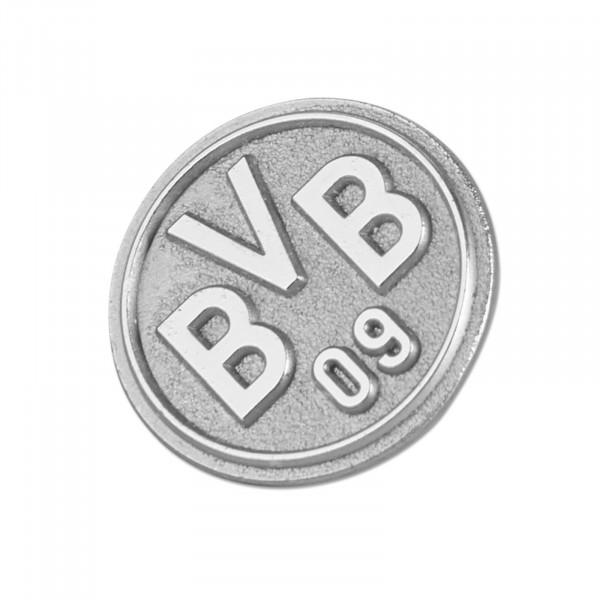 BVB-Pin emblem silver