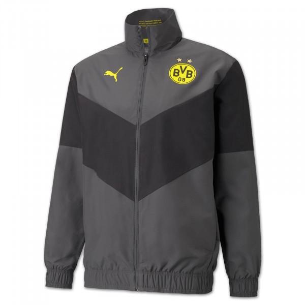 BVB Pre-Match Jacket (Asphalt)