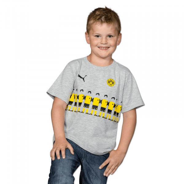 BVB T-Shirt with Players for Kids