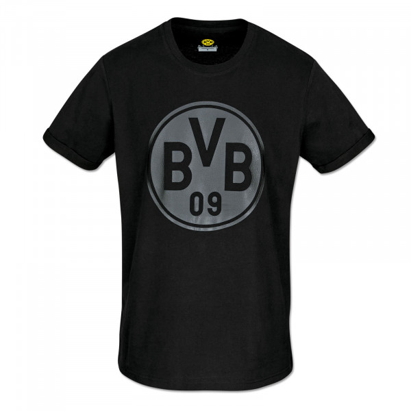 BVB Leather Look T-Shirt for Men