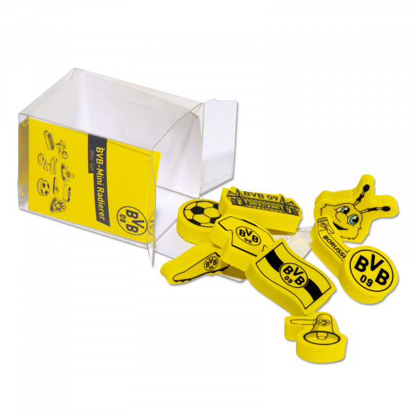 BVB Mini Eraser 09 Set