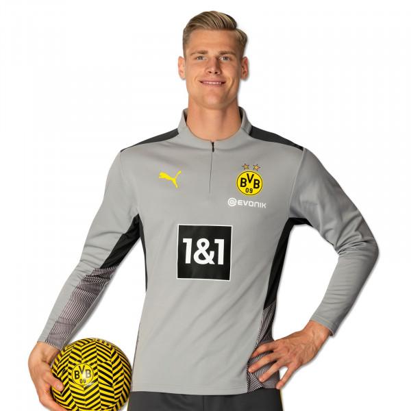 BVB Training Zip Shirt 21/22 (grey)