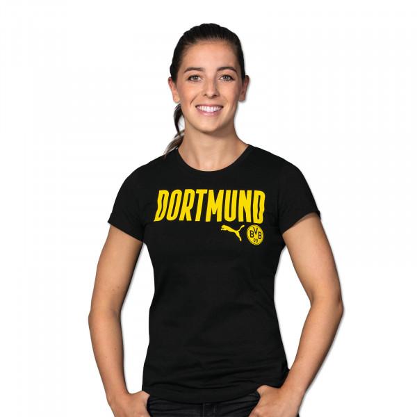BVB T-Shirt Dortmund 20/21 for Women (Black)