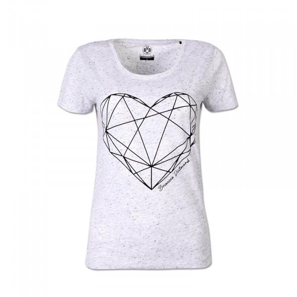 BVB Basic T-Shirt Ladies Heart
