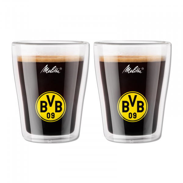 BVB Coffee Glasses Double-Walled (Set of 2)