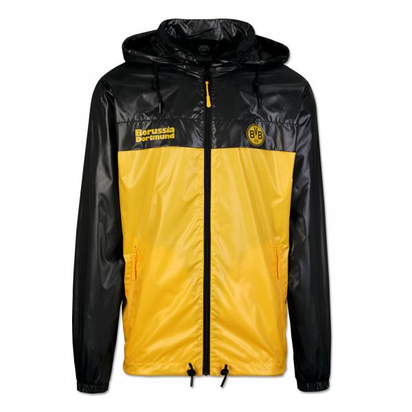Coupe-vent BVB rétro noir-jaune