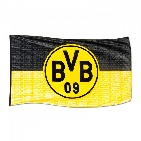 "BVB hoistable flag ""Borussia Dortmund"" (250 x 150 cm)"