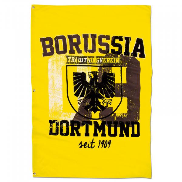 BVB hoistable flag with city arms (150 x 100 cm)