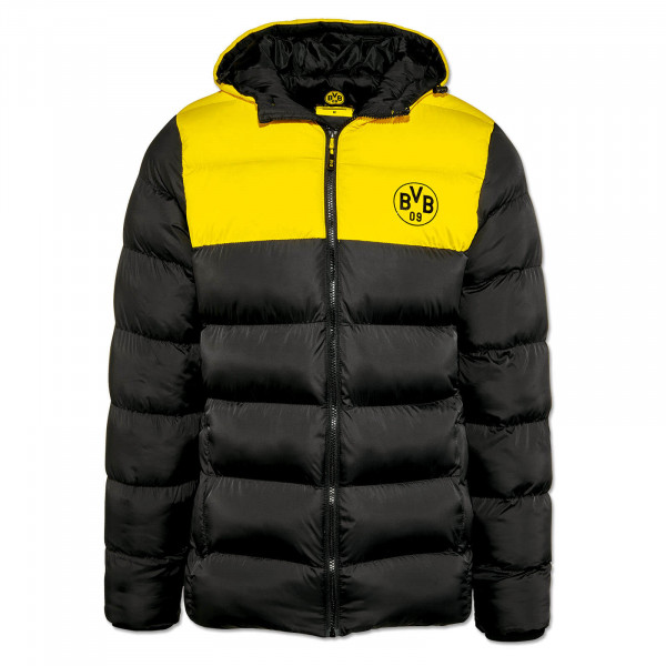 BVB Winter Jacket Black/Yellow For Men