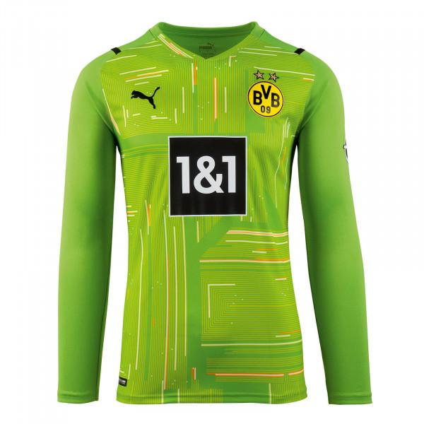 BVB Goalkeeper Shirt 21/22 (Green) for Kids