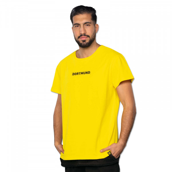 MEN'S BVB LOGO T-SHIRT YELLOW